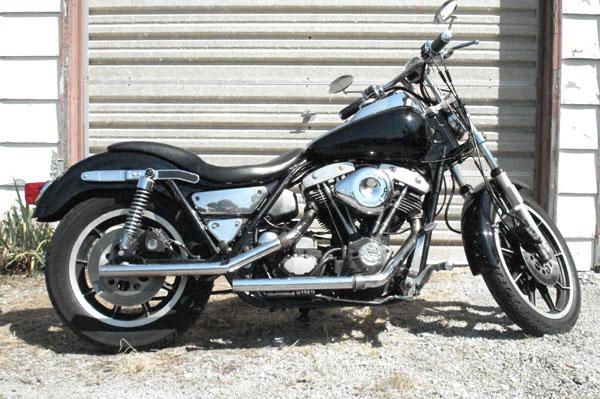 1982 Harley Davidson FXRS - First year FXR - Mine!